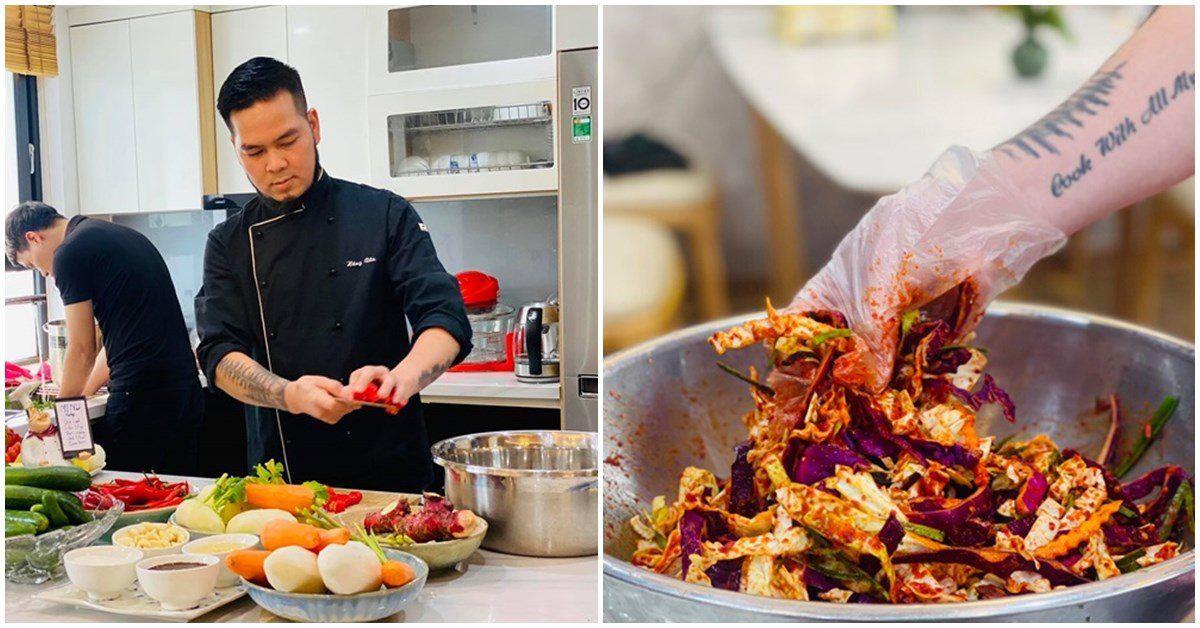 Nông sản đang rẻ, đầu bếp mách cách làm kim chi từ các loại rau củ quả tuyệt ngon