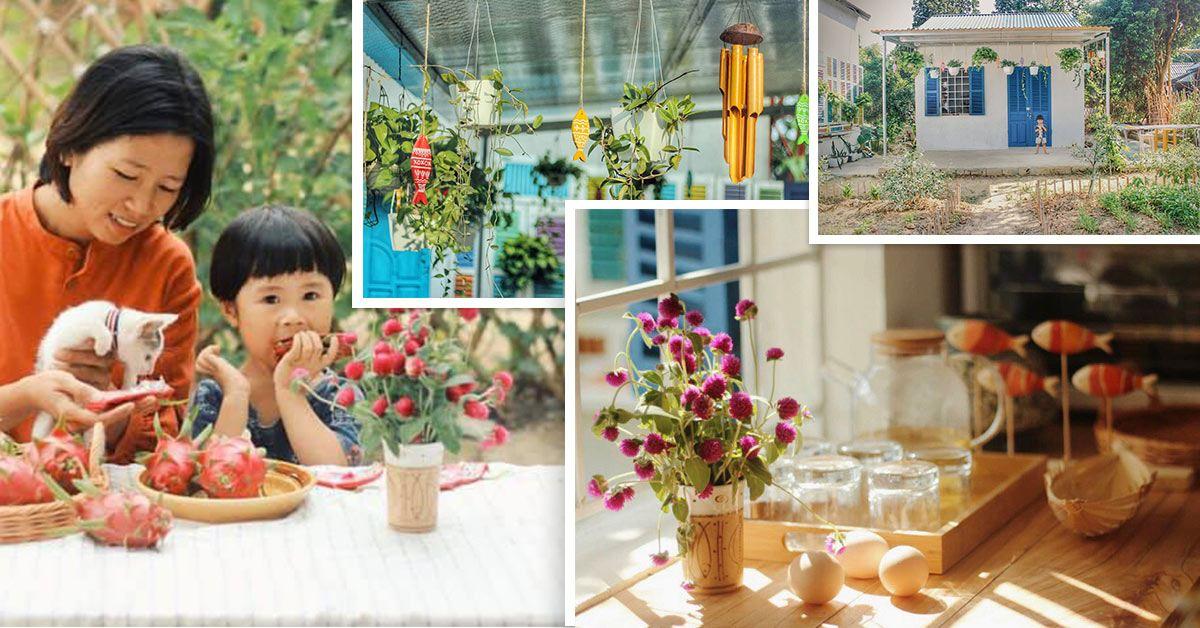 Cô gái 27 tuổi bỏ phố lên vùng sâu cất nhà 20m2, làm vườn, trồng hoa sống an yên