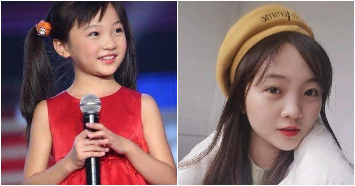12 năm sau bê bối hát nhép, nâng ngực, bé gái Olympic giờ xinh như hoa hậu tương lai