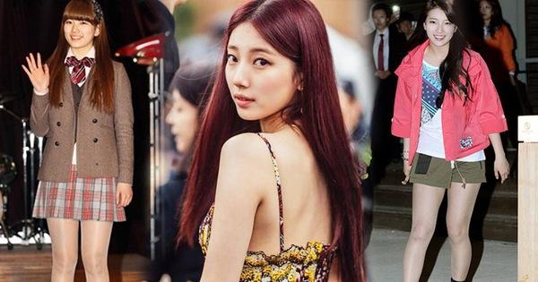 """""""Lột xác"""" khủng khiếp sau 9 năm, Suzy chứng minh: Dù có xinh sẵn thì cũng cần giảm cân mới đạt đỉnh cao nhan sắc được"""