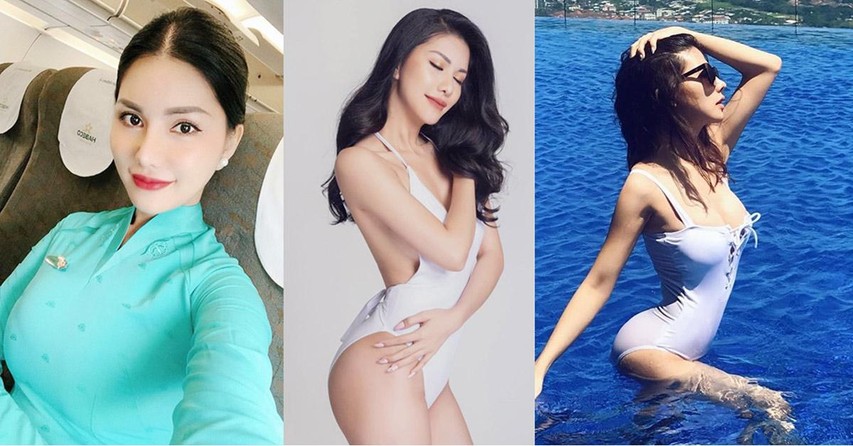 """""""Hoa hậu tiếp viên hàng không Việt Nam"""" có body đẹp nhờ điệu nhảy sexy nhất thế giới"""