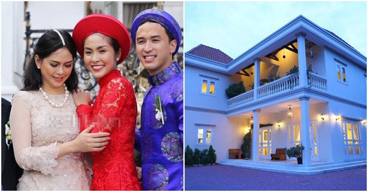 Những mỹ nhân Việt nức tiếng 1 thời giờ ở cơ ngơi khủng, mẹ chồng Hà Tăng cũng góp mặt
