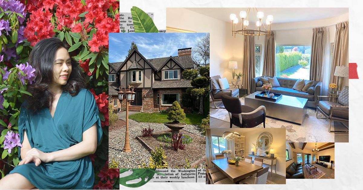 """Mẹ Việt mua lại nhà """"tàn tạ"""" ở Canada, sửa sang thành chốn lui về đẹp như mơ"""