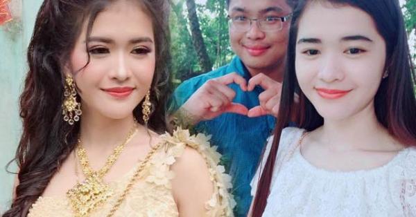 """""""Gây bão"""" mạng vì quá xinh đẹp, cô dâu Khmer giờ ra sao sau 1 năm kết hôn?"""