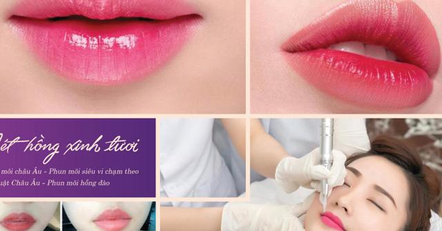 Phun môi Collagen Xavia – Sắc môi căng mọng tự nhiên, chuẩn màu, cam kết bền đẹp