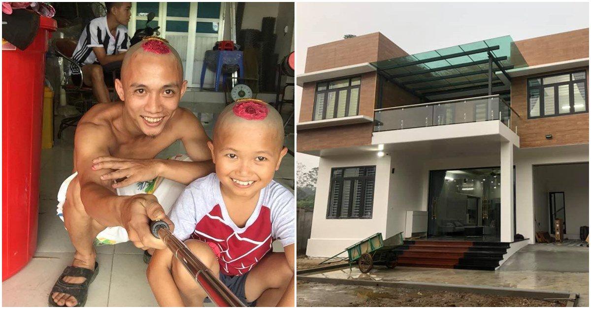 Anh em Tam Mao khoe biệt phủ rộng lớn, hé lộ thêm 1 căn mới đang xây gây ngỡ ngàng