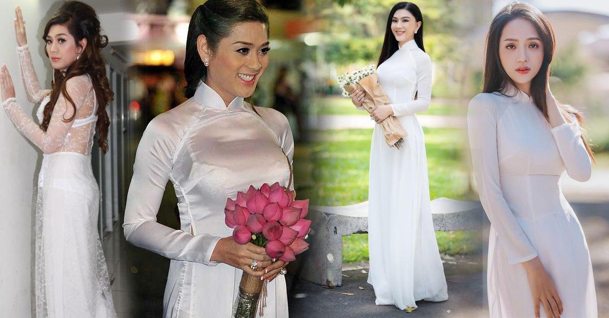 """Ngày nào diện áo dài trắng bị gọi """"thảm hoạ"""", Lâm Khánh Chi giờ đẹp vượt luôn Hương Giang"""