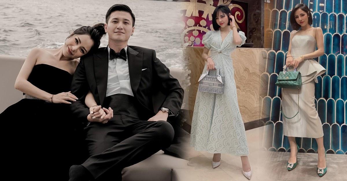 """Hot-mom """"dậy sóng"""" MXH hẹn hò Huỳnh Anh: BTV xinh đẹp sở hữu gout thời trang nức mùi hàng hiệu"""