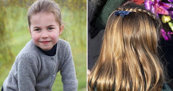 Công chúa Charlotte càng lớn càng xinh như búp bê, tóc mây bồng bềnh khiến ai cũng ghen tị