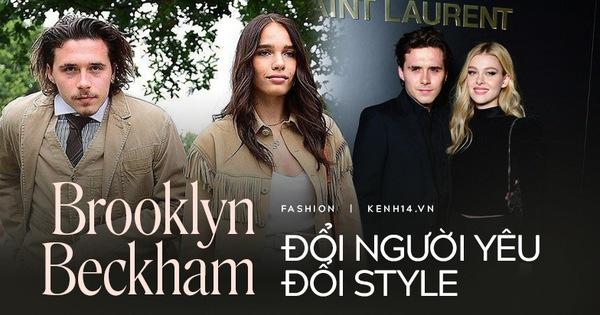 """Tình yêu là thứ quyết định style của Brooklyn Beckham: Bên bạn gái """"kém sắc"""" thì lôi thôi như ông chú, yêu ái nữ tỷ phú lại bảnh ra trò"""