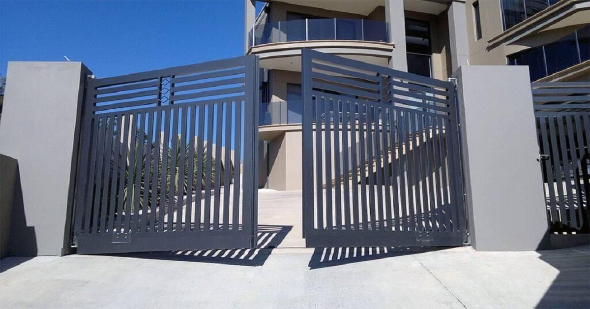 Những mẫu cổng hàng rào sắt đẹp, biến nhà sang chảnh chẳng khác gì biệt thự