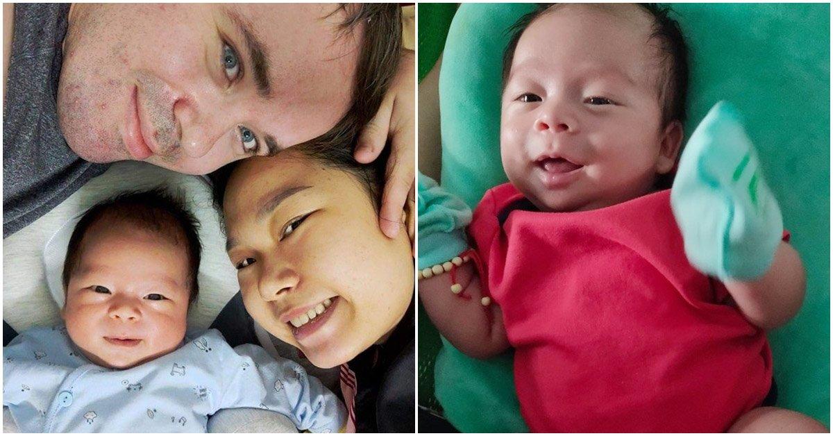 """9X Sài Gòn có bầu với chồng Rumani, em bé chào đời mọi người thắc mắc: """"Không thấy lai?"""""""