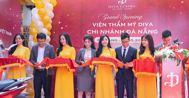Viện thẩm mỹ DIVA khai trương cơ sở làm đẹp cao cấp tại Đà Nẵng