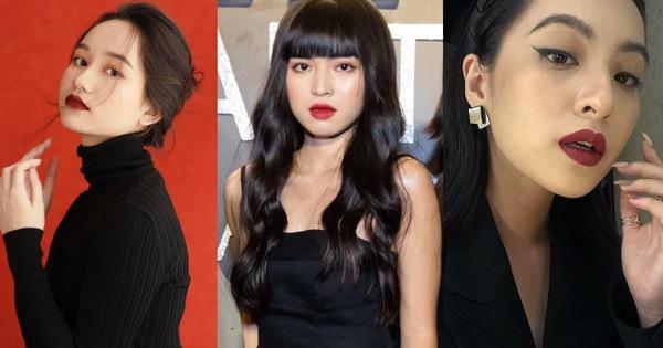 """3 mỹ nhân """"Mắt Biếc"""" khi makeup đậm ai cũng sang hơn: Hà Lan thần thái, Trà Long trưởng thành, """"bé Hồng"""" như gái Tây"""